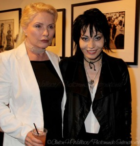 Debra Harry and Joan Jett. Photo credit Clinton H. Wallace/Photomundo International Entertainment