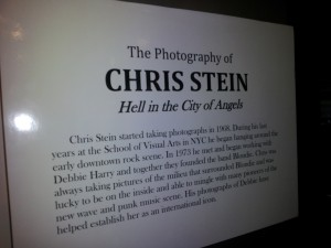 Chris Stein- Hell in the City of Angels Exhibit
