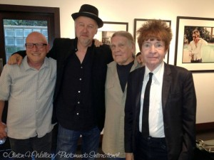 Richard Horowitz, Stephen Smith, Henry Diltz and Rodney Bingenheimer. Photo credit: Clinton H. Wallace/Photomundo International