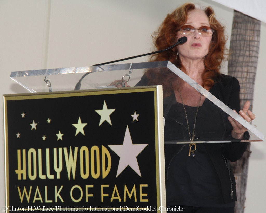 Bonnie Raitt was a guest speaker at Joe Smith's Hollywood Walk Of Fame Star Ceremony ©Clinton H. Wallace/Photomundo International/DemiGoddessChronicle