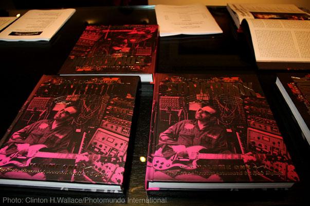 Dave Stewart Photography books on display. Photo credit: Demi Goddess Chronicle