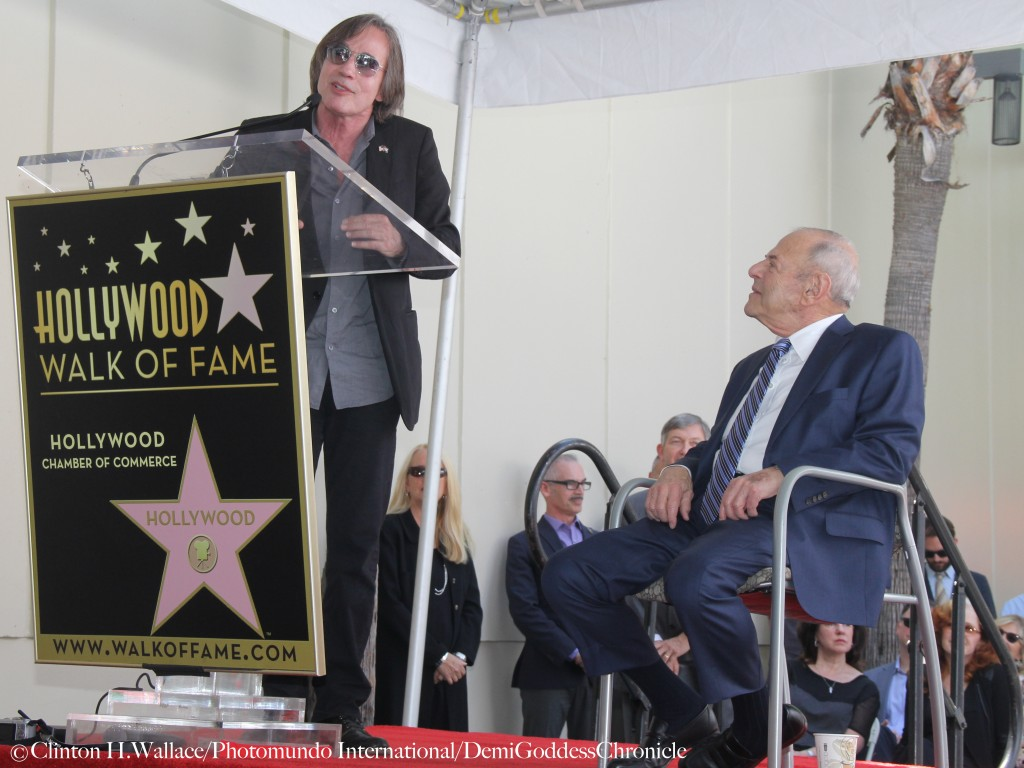 Jackson Browne gives a very moving speech at Joe Smith's Hollywood Walk Of Fame Star Ceremony ©Clinton H.Wallace/Photomundo International/DemiGoddessChronicle