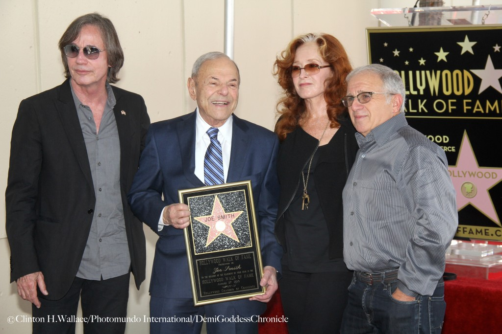 Joe Smith Celebrates His Walk Of Fame Star with Bonnie Raitt, Jackson Browne ©Clinton H.Wallace/Photomundo International/DemiGoddessChronicle