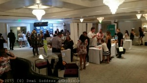 Guests enjoying the Pre- MTV Gifting Suite