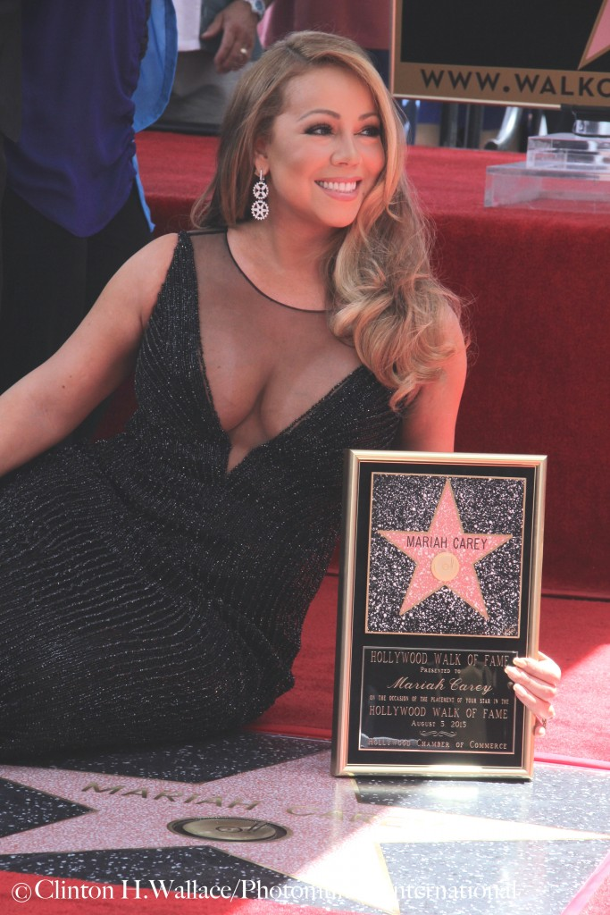 Mariah Carey Honoured With Star On The Hollywood Walk Of Fame,  ©Clinton H. Wallace/Photomundo International/DemiGoddessChronicle, all rights reserved