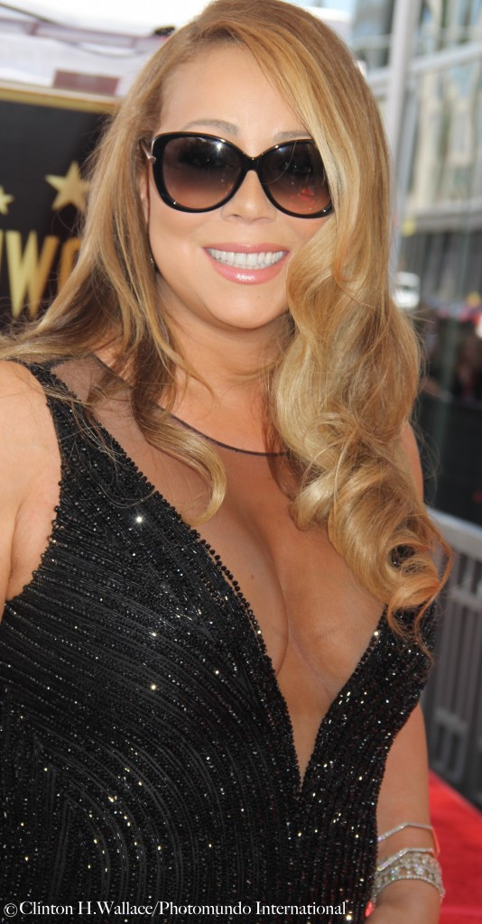 Mariah greets her many Fans during her Hollywood Walk Of Fame Star Ceremony.   Photo Credit: ©Clinton H. Wallace/Photomundo International/DemiGoddessChronicle, all rights reservedInternational, all rights reserved