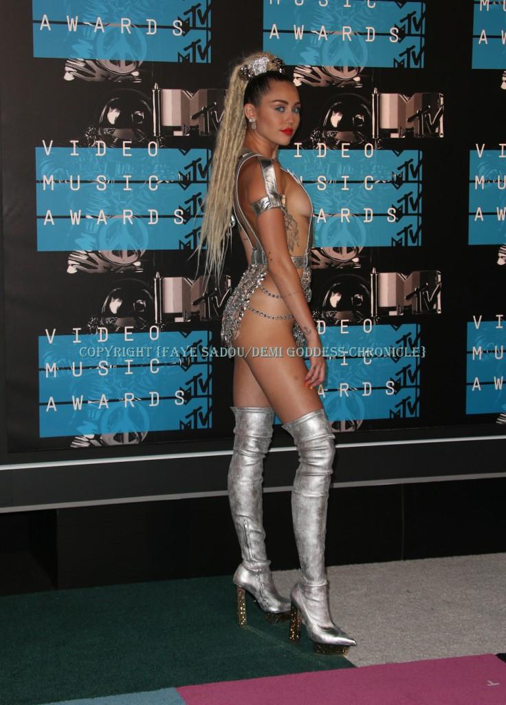 Miley Cyrus Attend 2015 MTV Video Music Awards Photo Credit: Faye Sadou/DemiGoddessChronicle.com