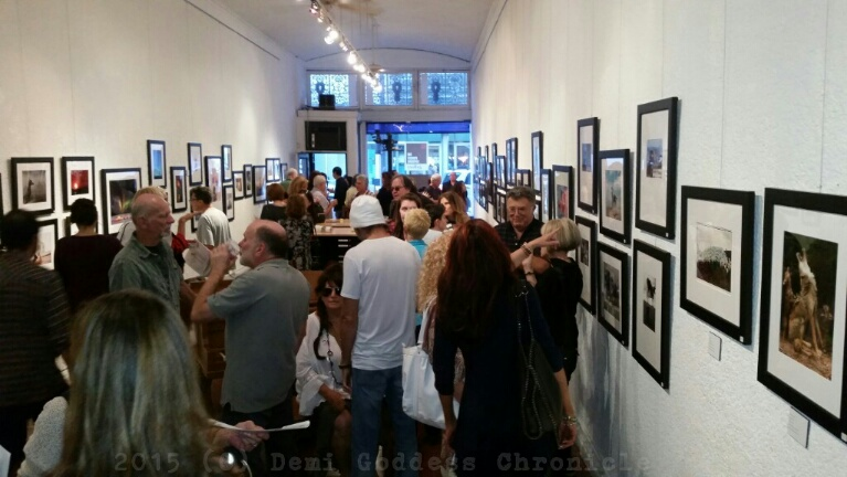 Gallery Guests. Photo credit Demi Goddess Pictures