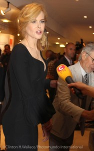 Nicole Kidman and Steven Spielberg arrive at the 66th annual Cannes Film Festival. Photo credit: Clinton H. Wallace/Photomundo Intermnational
