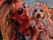 Tamie Sheffield Celebrates National Dog Day With Her adorable Pooch  Photo Credit: Tamie Sheffield