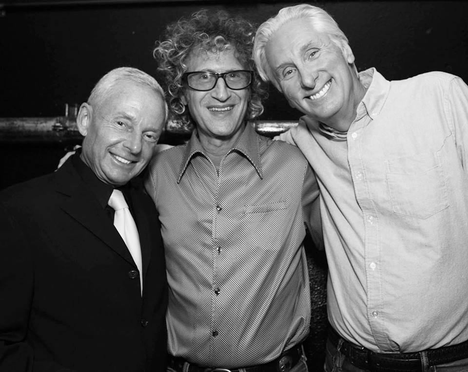 Elliot Mintz, Rock & Roll Photographer Jimmy Steinfeldt and PR expert Michael Levine. Photo Credit: Jimmy Steinfeldt for Demi Goddess Chronicle