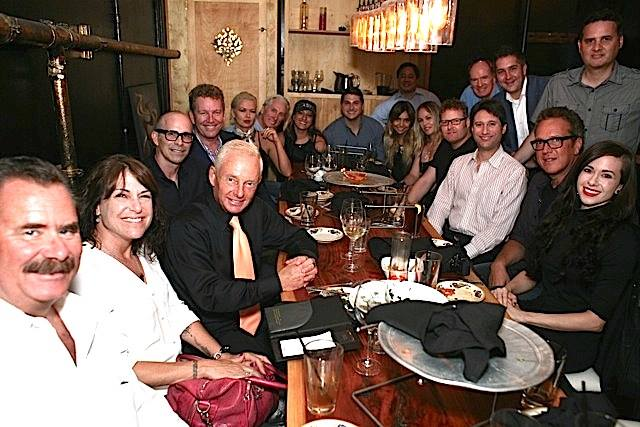 """City Talk"" distinguished guests honoring legendary media consultant Elliot Mintz. Photo credit: Jimmy Steinfeldt"