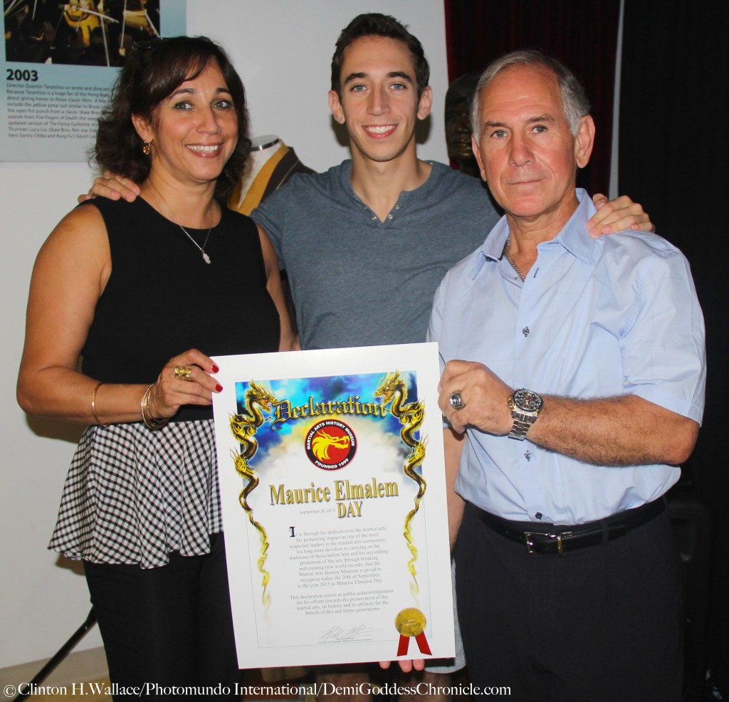 Grand Master Maurice Elmalem and Family