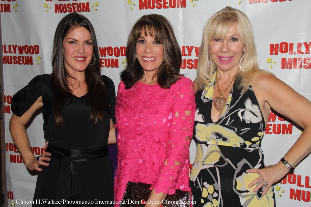 "Kira Reed Lorsch, Kate Linder & Sandi Margolis attend the Hollywood Museum's THE BEST IN TELEVISION"" EMMYS 2015 Celebration  ©Clinton H.Wallace/Photomundo International/DemiGoddessChronicle.com"