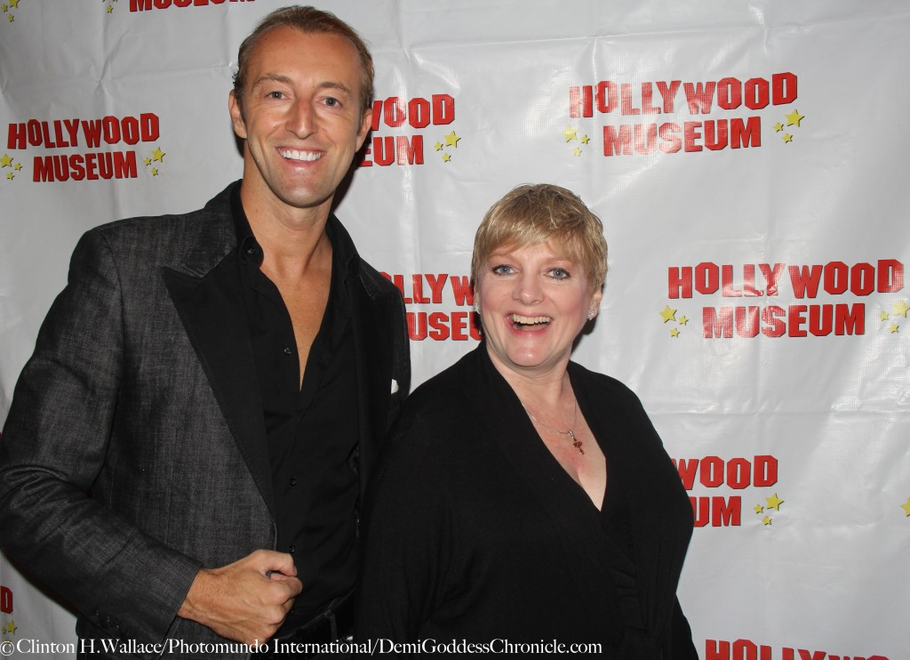 "Mario-Max Prinz Zu Schaumburg-Lippe & Alison Arngrim attend the Hollywood Museum's THE BEST IN TELEVISION"" EMMYS 2015 Celebration"