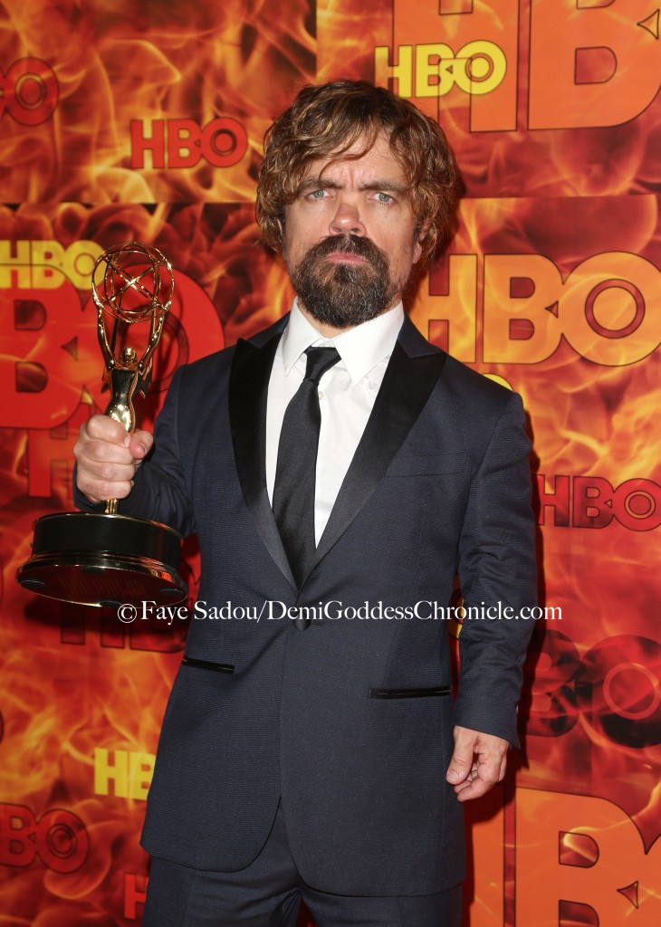 Peter Dinklagel Attend HBO's Official 2015 Emmy After-Party. Faye Sadou / DemiGoddessChronicle.com