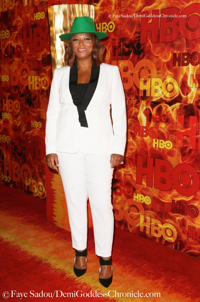 Queen Latifah Attend HBO's Official 2015 Emmy After -Party Photo Credit: Faye Sadou / DemiGoddessChronicle.com
