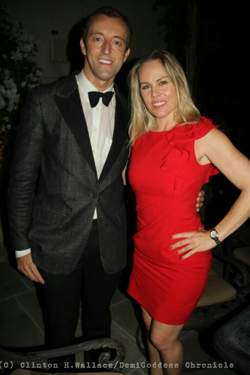 H.H. Dr. Prince Mario-Max Schaumburg-Lippe and Film Producer/Entrepreneur Christy Oldham. Photo Credit: Clinton H. Wallace/DemiGoddess Chronicle