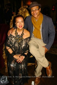 Sue Wong and Film Producer/Photographer Clinton H. Wallace. Photo Credit: Demi Goddess Chronicle