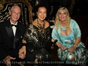 Prince Waldemar, Sue Wong and her Highness Princess Antonia Schaumburg-Lippe. Photo Credit: Clinton H. Wallace/DemiGoddess Chronicle