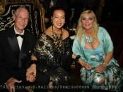 Prince Waldemar, Sue Wong and her Highness Princess Antonia Schaumburg-Lippe. Photo Credit: Clinton H. Wallace/DemiGoddess Chronicle