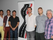 Filmmakers Bruce Locke, Wojciech Fry-Lewis, Stefan Kubicki, Thomas Kot, Paul Kowalski and Vladek Juszkiewicz - Festival Founder & Director attend 2015 Polish Film Festival Los Angeles Press Conference Photo: Clinton H. Wallace/Photomundo Internanational/DemiGoddessChronicle.com