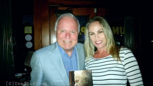 Former LA Mayor Richard Riordan and Film Producer Christy Oldham. Photo Credit: DemiGoddess Chronicle