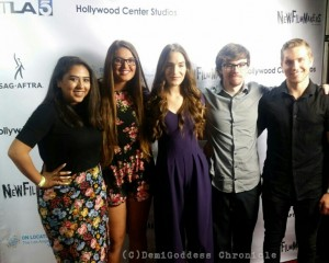 "Cast of ""Love LA"". Photo Credit: DemiGoddess Chronicle"