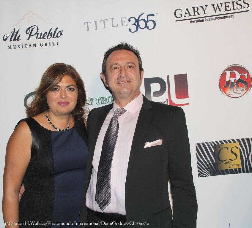 Sharon and Joseph Hanassab. Photo Credit: Clinton H. Wallace/DemiGoddess Chronicle