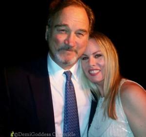 Jim Belushi and Christy Oldham. Photo Credit: Clinton H. Wallace/DemiGoddess Chronicle