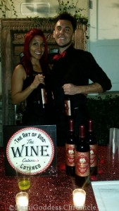 Reps from The Wine Caterers. Photo Credit: DemiGoddess Chronicle