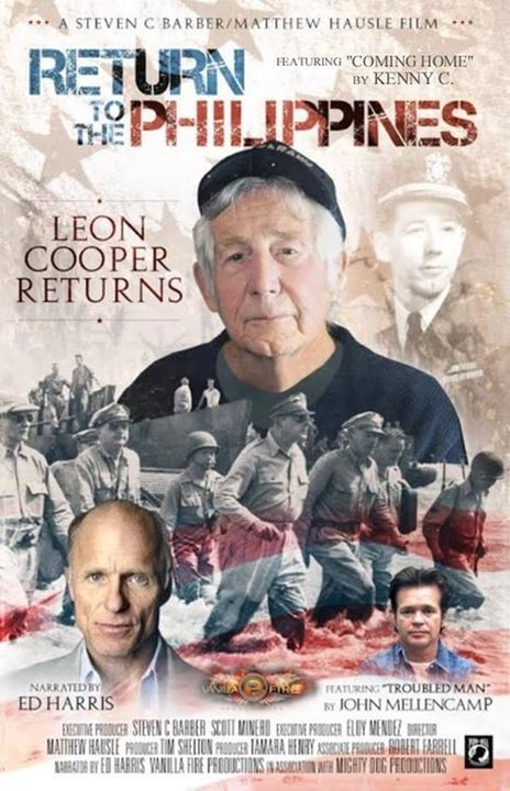 """Return to the Philippines: The Leon Cooper Story"" Poster Courtesy of Vanilla Fire Productions"