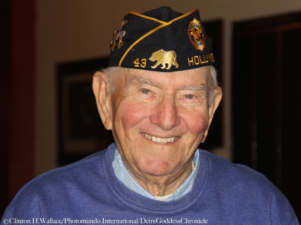 """Mort Schecter attend """"Return to the Philippines: The Leon Cooper Story"""" Veterans Day 2015 Celebration at American Legion Post 43, Hollywood, CA ©Clinton H.Wallace/Photomundo International/DemiGoddessChronicle.com"""