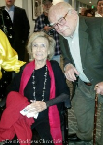 Cloris Leachman and Ed Asner. Photo Credit: DemiGoddess Chronicle