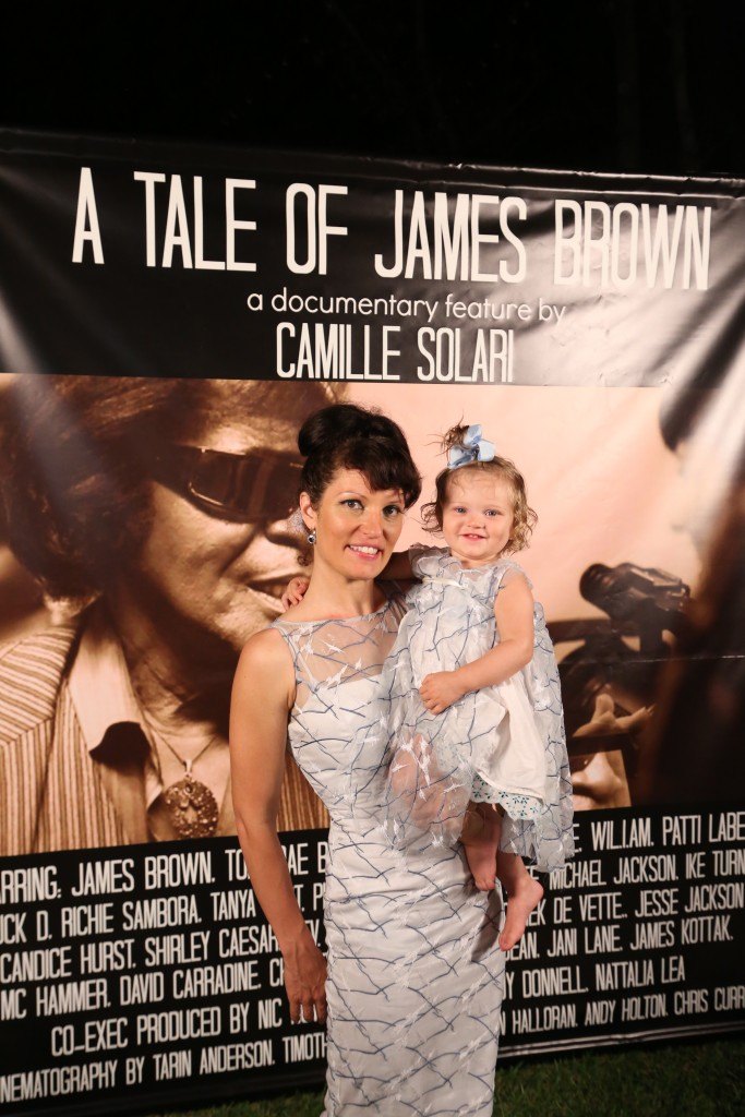 "Camille Solari & Charlie Solari Dean attend the Premiere Of The Documentary Feature ""A Tale of James Brown""  property courtesy of A Tale of James Brown Productions"
