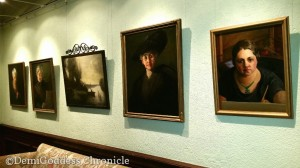 Artwork in The Ebell. Photo by Demi Goddess Chronicle
