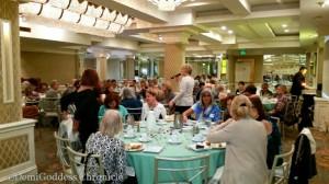 WPW membership luncheon. Photo credit: Demi Goddess Chronicle