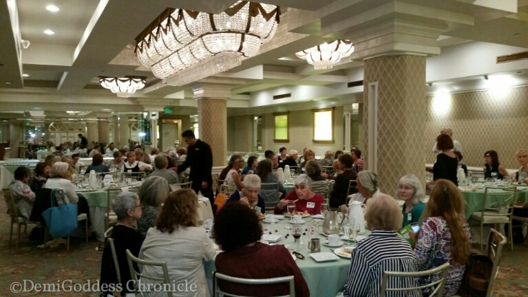 WPW monthly luncheon. Photo credit: Demi Goddess Chronicle