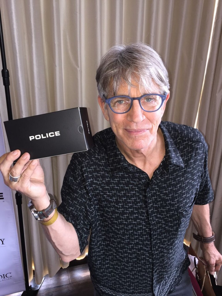 Police Lifestyle: Eric Roberts Chose Eye wear Linear 2 VPL134AGQ Photo Credit: Tony DiMaio/Startraksphoto.com