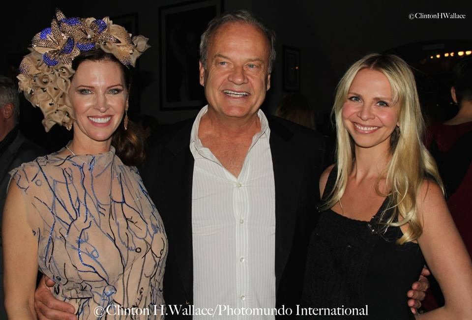 Leslie Zemeckis, Kelsey Grammer and wife Kayte Walsh Grammer. Photo credit: Demi Goddess Chronicle