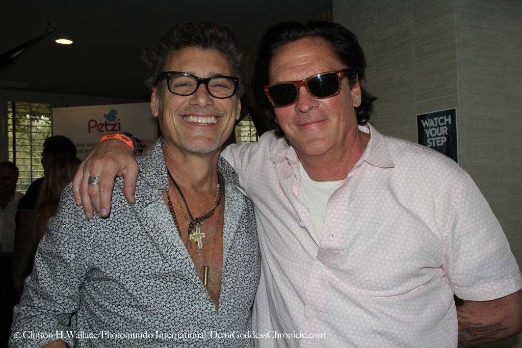 Steven Bauer and Michael Madsen At Secret Room Pre-Awards Red Carpet Style & Beauty Lounge W Hotel ©Clinton H. Wallace/Photomundo International/Demigoddess Chronicle