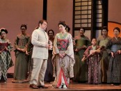 Ana Maria Martinez as Cio-Cio-San and Stefano Secco as Pinkerton Photo by Ken Howard for LA Opera