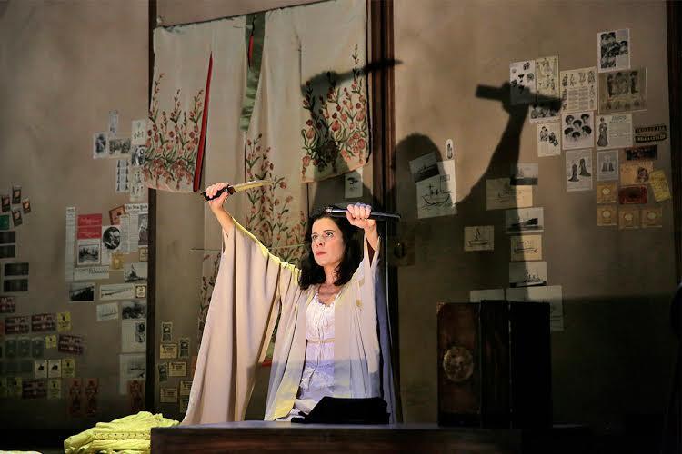 "Ana Maria Martinez as Cio-Cio San in LA Opera's 2016 production of ""Madame Butterfly."""