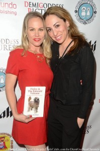 Christy Oldham and Celebrity Stylist Jenny Leeser. Photo credit: David Edwards/DailyCeleb.com for DemiGoddessChronicle.com