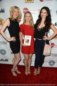 Model JaLynn Hardy, Christy Oldham and Actress Natasha Blasick. Photo credit: David Edwards/DailyCeleb.com for DemiGoddessChronicle.com