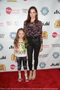 Actress Elina Madison and daughter Lillian Trow. Photo credit: David Edwards/DailyCeleb.com for DemiGoddessChronicle.com