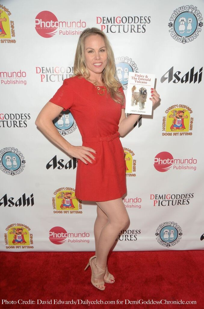 Author Christy Oldham. Photo Credit: David Edwards/DailyCeleb.com for DemiGoddessChronicle.com