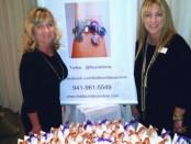 Owners Becky Wells and Karen Benson of Thefleurdelisandme.com  Photo Credit: DemiGoddessChronicle.com