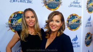 Christy Oldham and Jennifer Aspen. Photo credit: Demi Goddess Chronicle