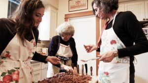 "Cooking scene from ""A Classy Broad"". Photo courtesy of A Classy Broad PR for DemiGoddessChronicle.com"